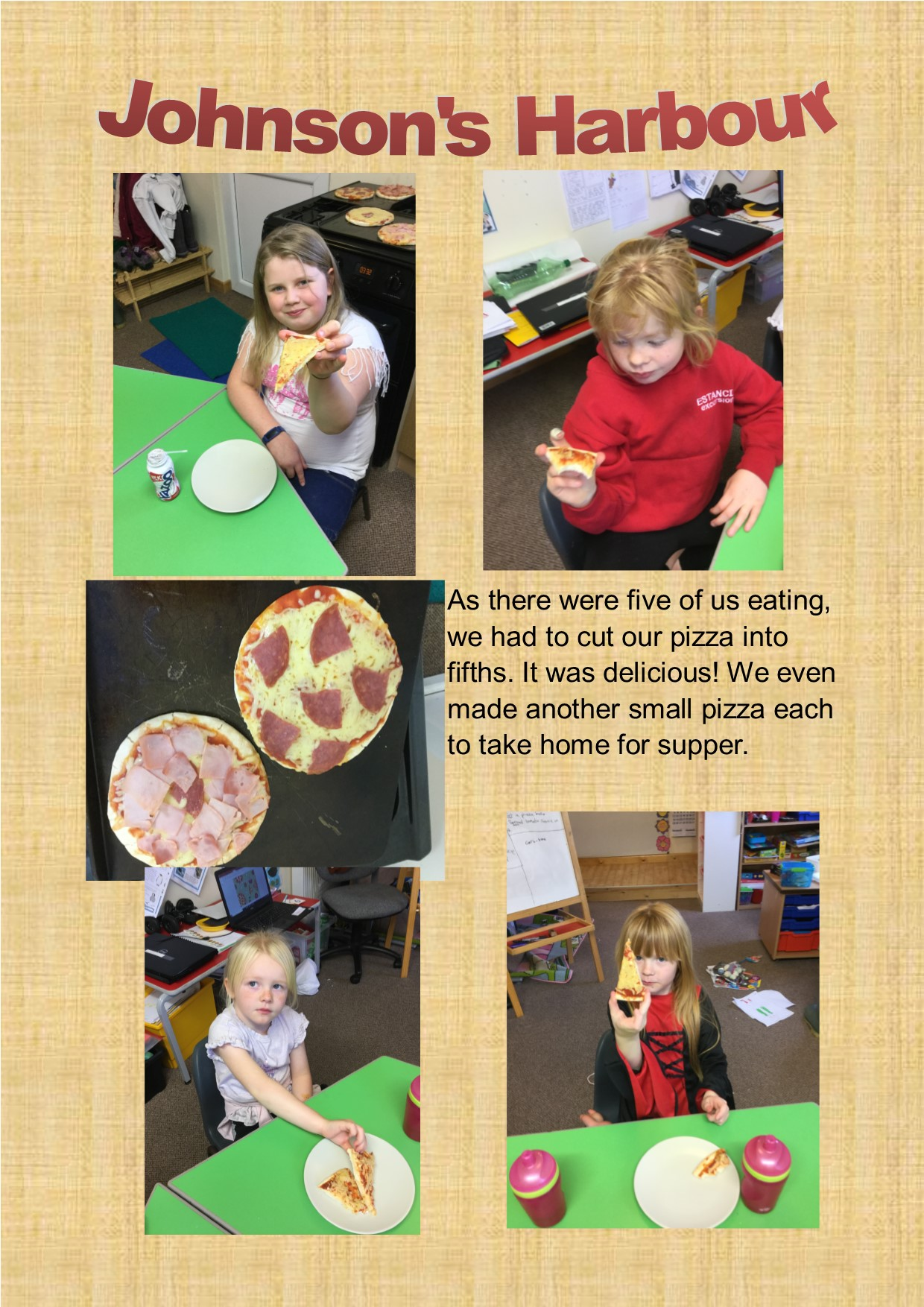 Maths Making pizza 2
