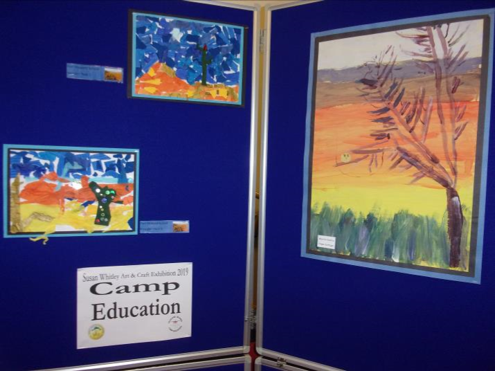 Camp Education Susan Whitley Exhibit